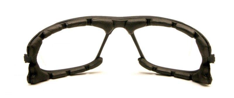 spugna parasudore utilizzata per occhiali da montagna con lenti fotocromatiche