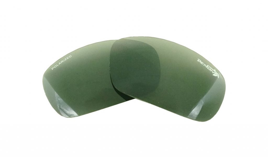 Coppia di lenti polarizzate per occhiali da montagna