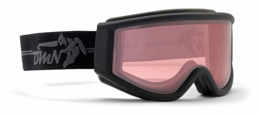 Maschera da sci per occhiali da vista fotocromatica polarizzata colore nero