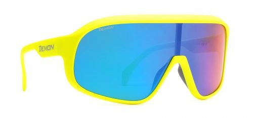 occhiale-da-ciclismo-lente-polarizzata-giallo-fluo-modello-crash