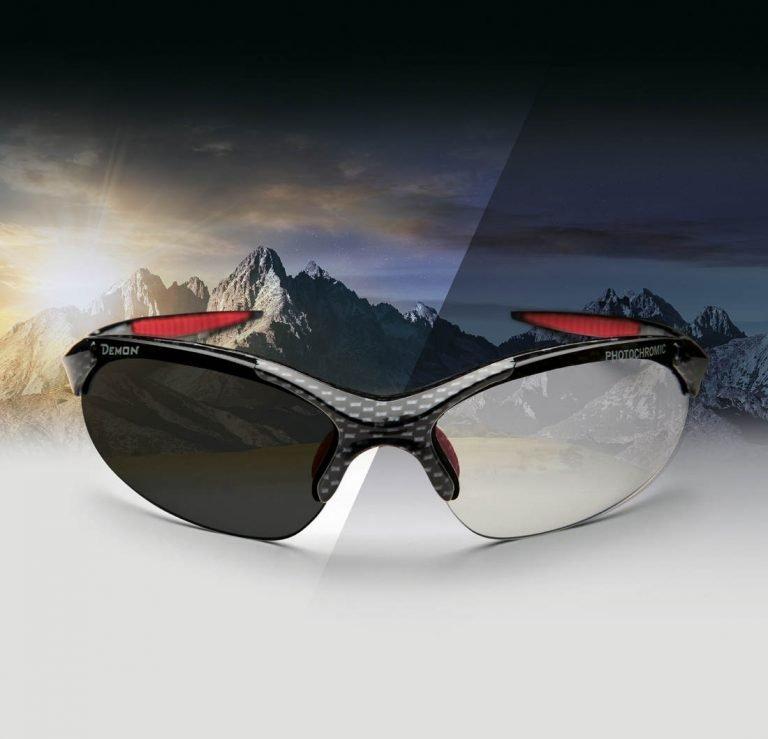 occhiale da ciclismo mountain bike ciclocross cicloturismo lenti fotocromatiche dchrom modello 832