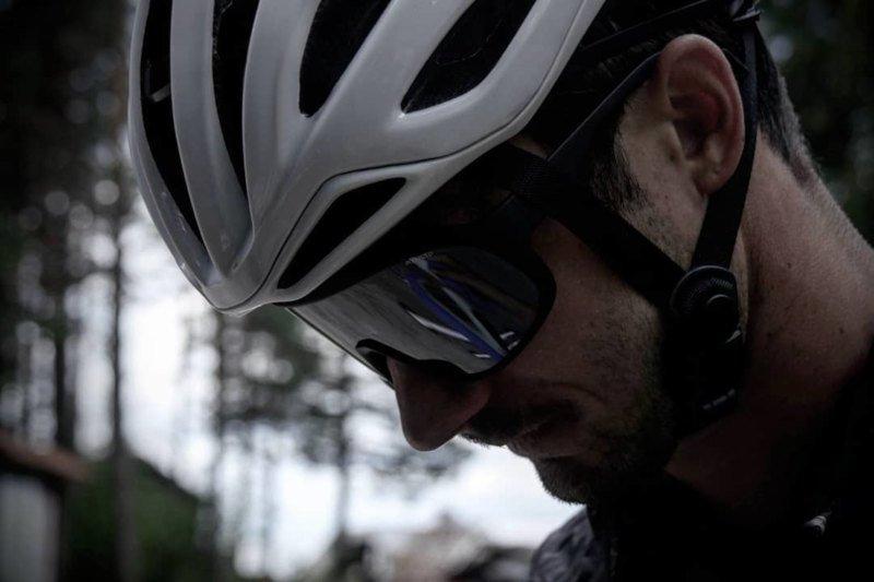 occhiale da ciclismo polarizzato a mascherina