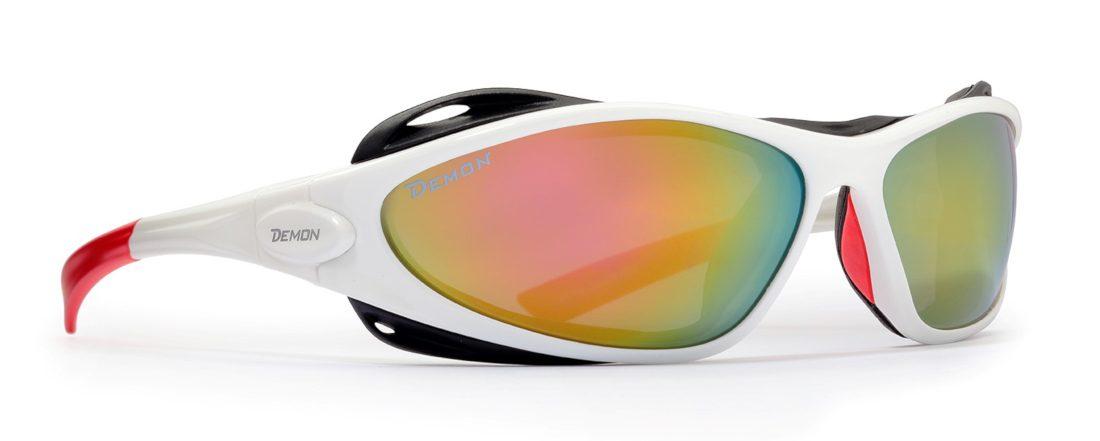 occhiale da donna per montagna lenti categoria 4 colore bianco