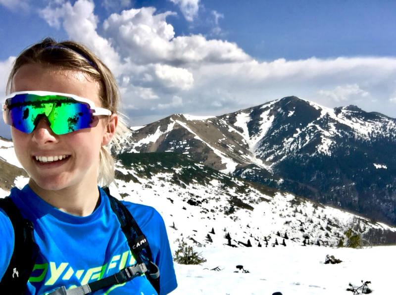 Occhiale da donna per trail running ed escursionismo con lente specchiata modello IMPERIAL