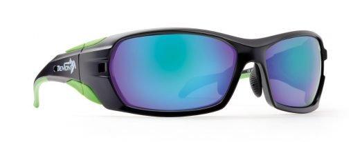 occhiale per escursioni in montagna e mountain bike lenti specchiate