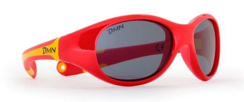 occhiale da montagna per bambino rosso lenti categoria 4