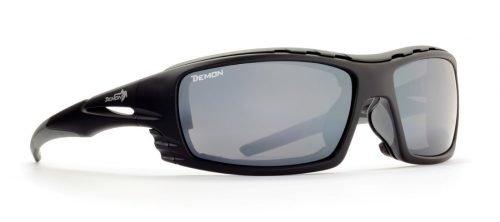 occhiale da outdoor nero con lenti categoria 4
