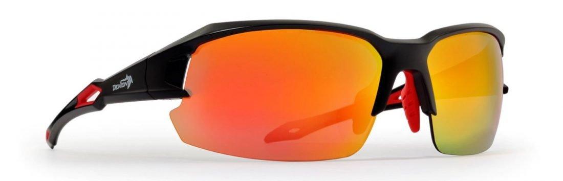 occhiale per ciclismo e running lenti specchiate modello tiger
