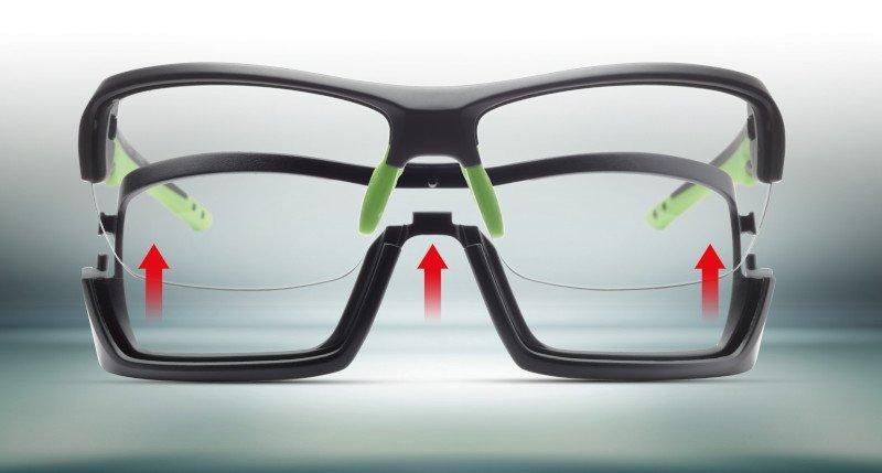 occhiale per ciclismo running ed escursionismo lenti fotocromatiche dchrom