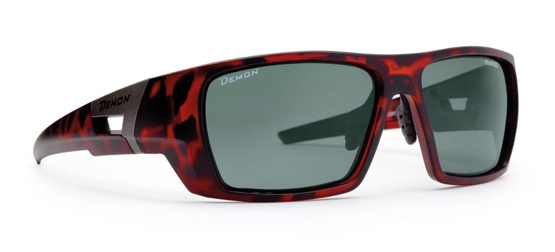 occhiale marrone per escursionismo con lenti polarizzate