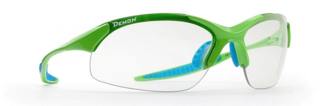 occhiale per escursionismo e tutti gli sport modello 832 lenti fotocromatiche fumo verde