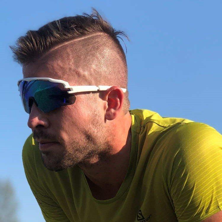 occhiale per running e triatlon lente specchiata