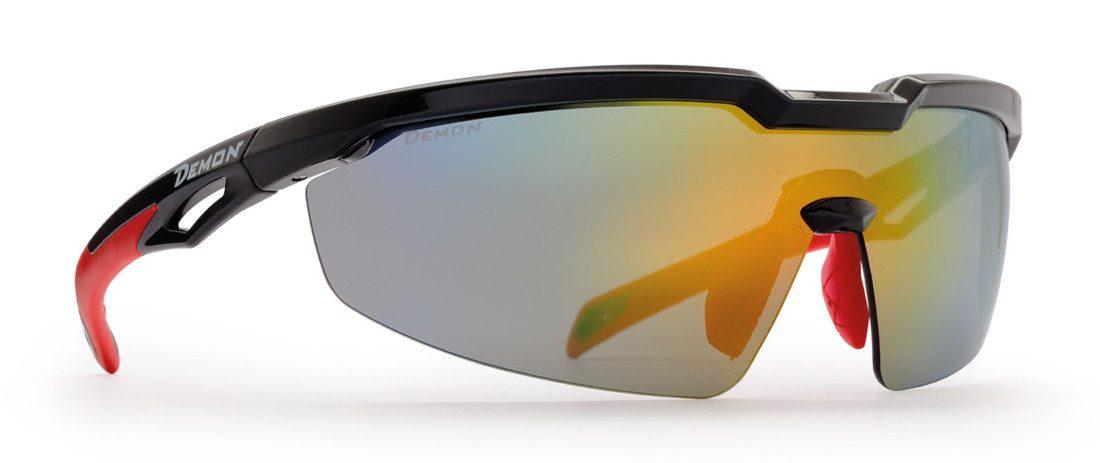 occhiale per triatlon lente specchiata