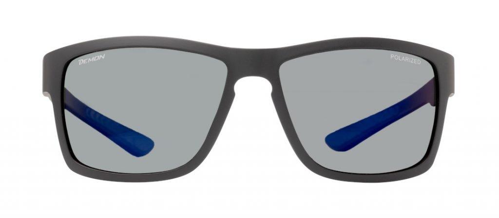 Occhiale polarizzato da uomo per pesca sportiva modello PSQUARE nero opaco