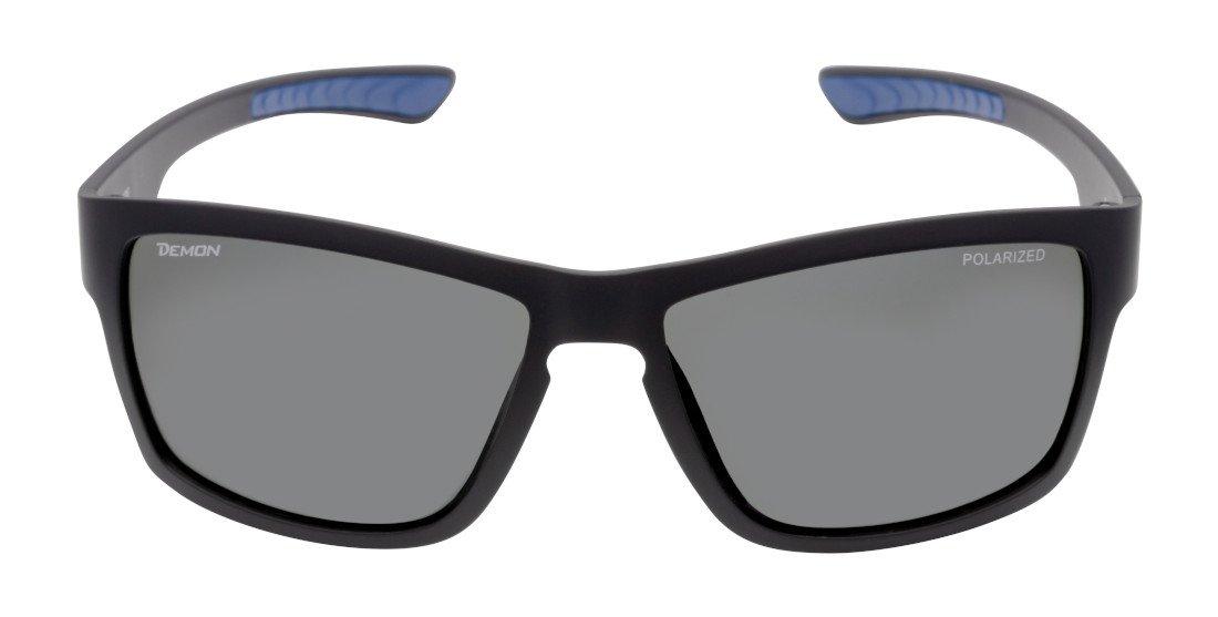 Occhiale polarizzato moda sport per trekking ed escursionismo ultraleggero modello psquare nero blu