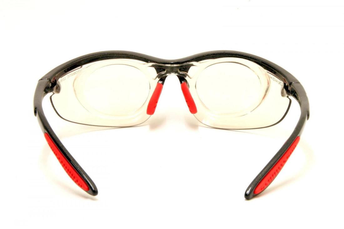 occhiale sportivo da vista fotocromatico modello 285 nero