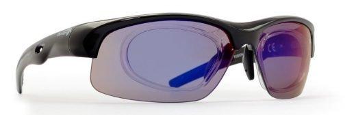 occhiale sportivo da vista con lenti specchiate per tutti gli sport