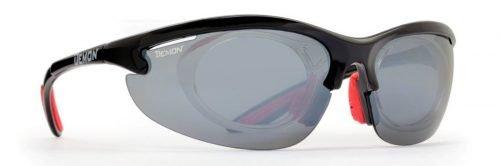 occhiale da vista sportivo con lenti specchiate intercambiabili modello 285