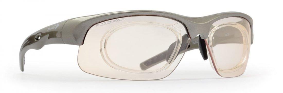 occhiale sportivo da vista per tiro a segno e sport d'acqua