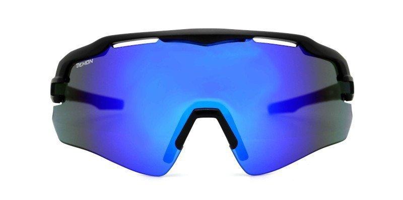 occhiale sportivo per tennis con lente specchiata