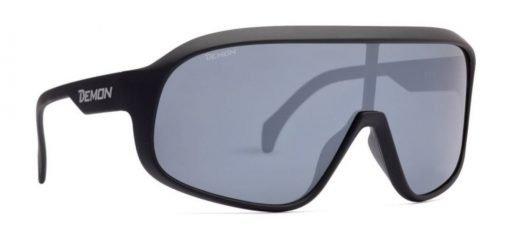 occhiali da ciclismo polarizzati per bici da corsa e mountain bike modello crash nero opaco