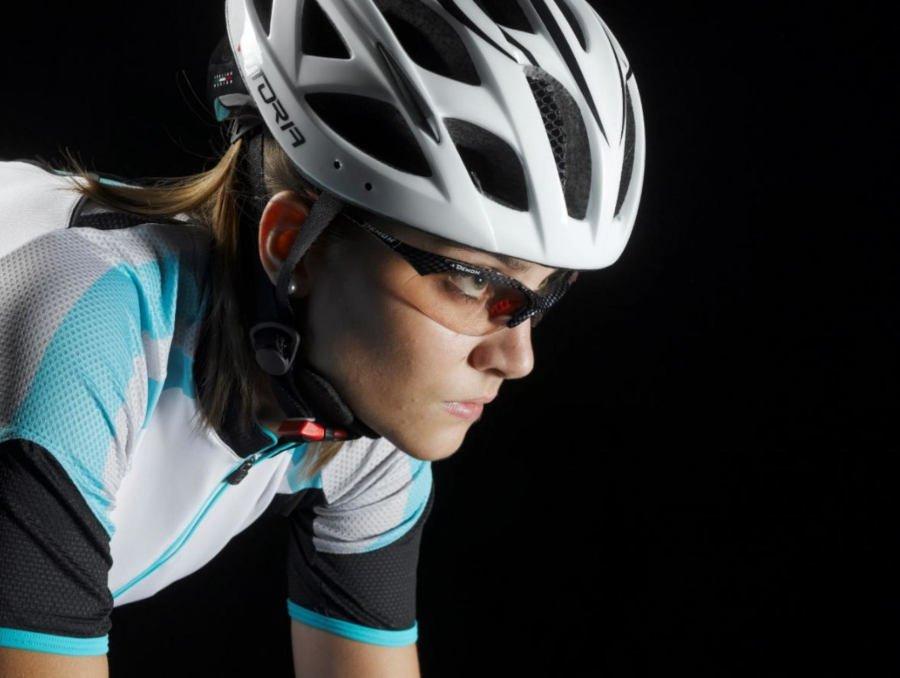 occhiali da donna fotocromatici fumo per bici da corsa