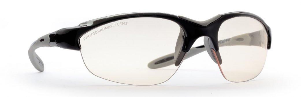 occhiali da donna per mountain bike MTB lenti fotocromatiche modello viper nero