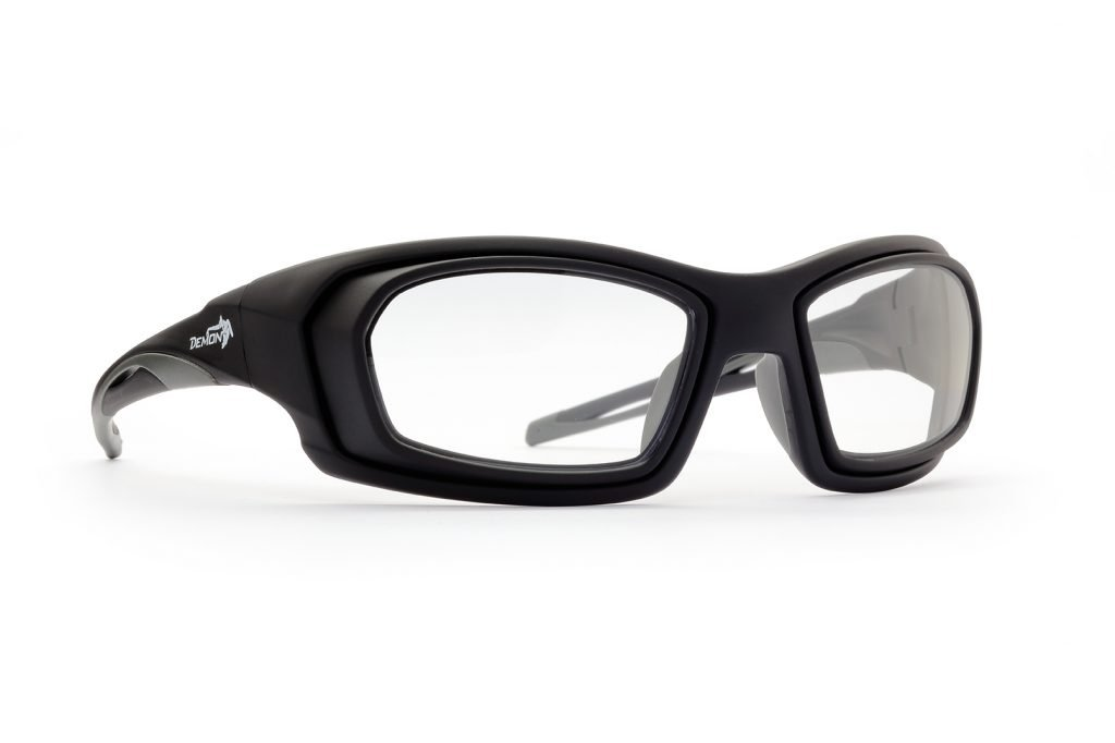 occhiale da vista per giocare a tennis con lenti graduate