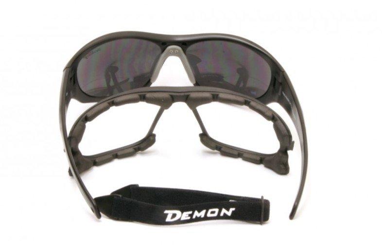occhiale da montagna con lenti categoria 4 con accessori