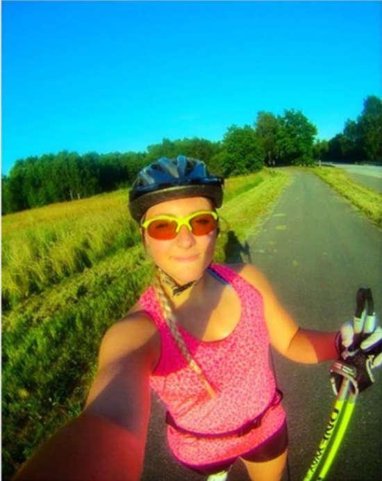runner occhiali da donna per running e trail running con lenti intercambiabili