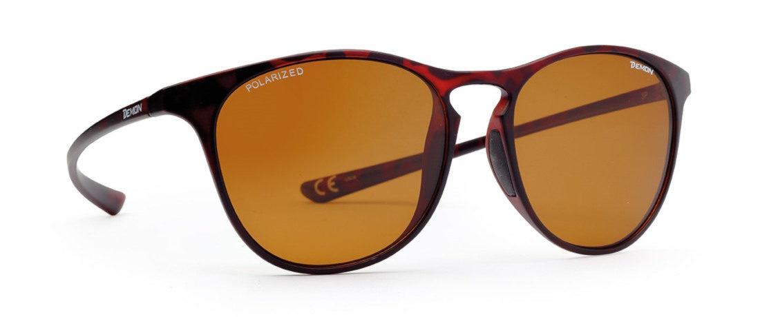occhiali moda sport lenti polarizzate marroni ultraleggeri