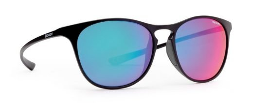 occhiali rotondi ultraleggeri moda sport lenti specchiate