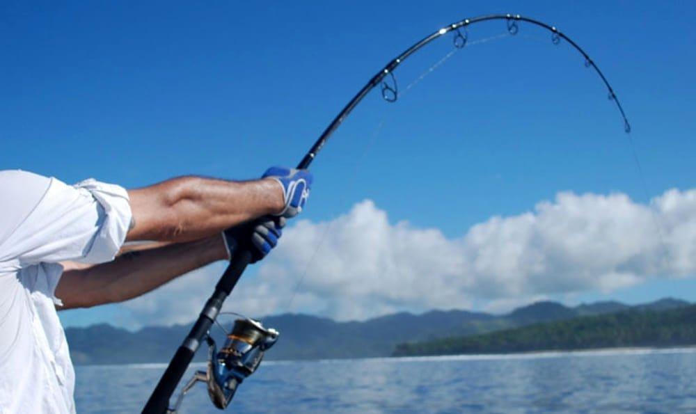 occhiale per pesca sportiva