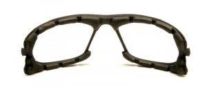 spugna parasudore nera occhiali da montagna e alpinismo