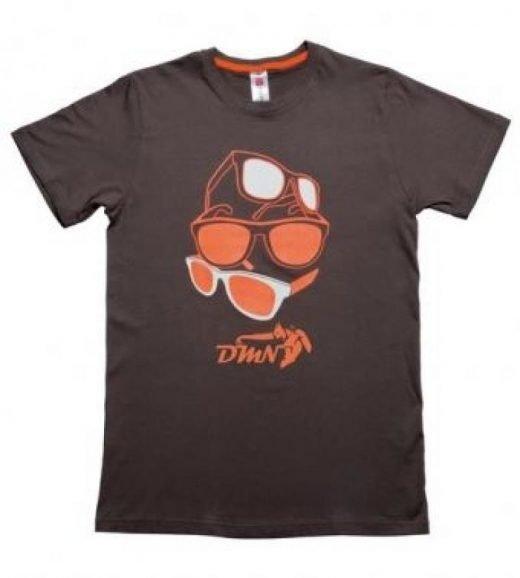 T-Shirt DMN Arancio Fluo