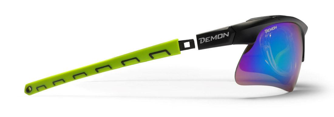 occhiale sportivo da vista con aste removibili per fascia elastica