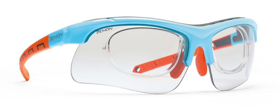 occhiale da vista per sci e sci di fondo con lenti fotocromatiche