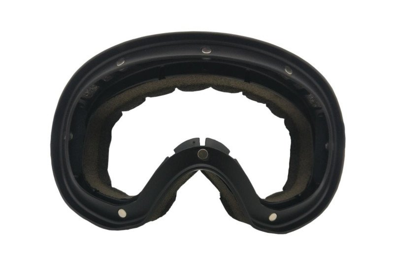 montatura morbida e leggera per occhiali da sci con elastico
