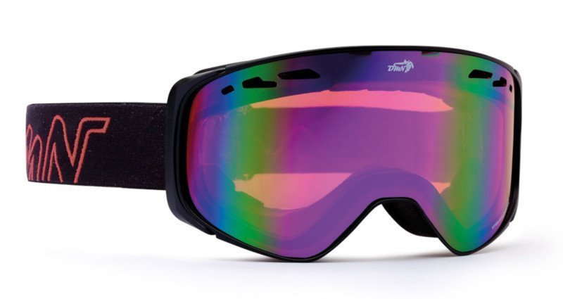 occhiale da sci otg per montature da vista lente arancio
