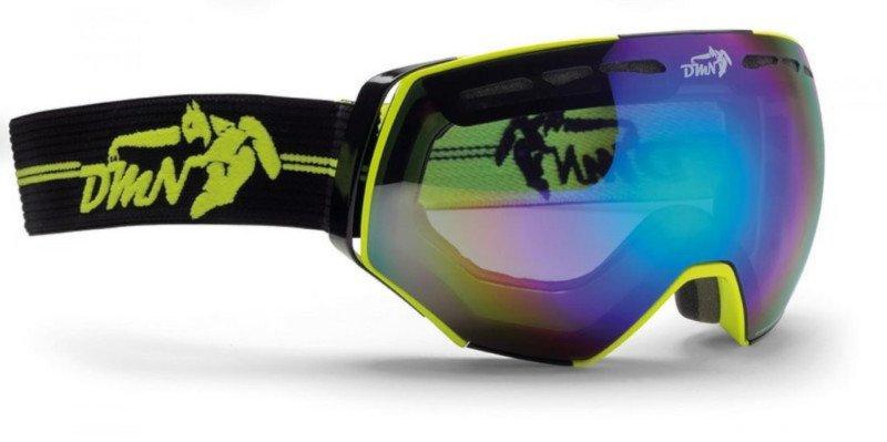 occhiale da vista per lo sci otg con lente fumo specchiata