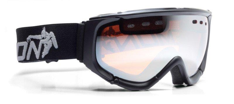 occhiali da sci con lente polarizzata per sciare in pista e fuoripista
