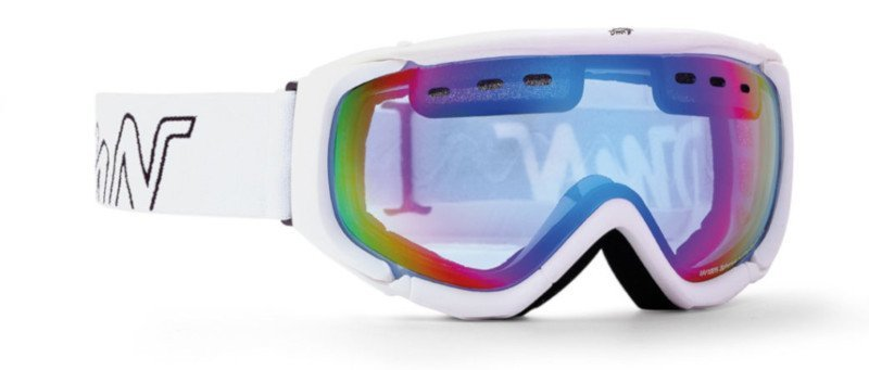 occhiali da sci da donna con lente arancio per sciare fuoripista