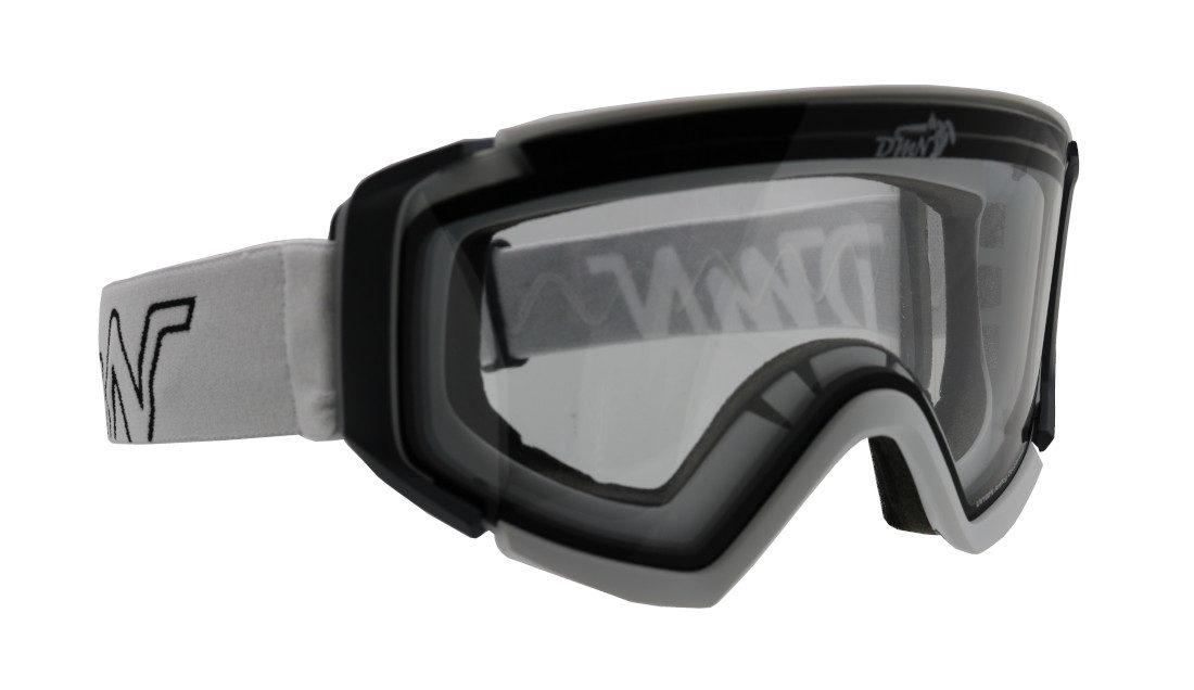 Maschera da sci donna lente trasparente modello PEAK
