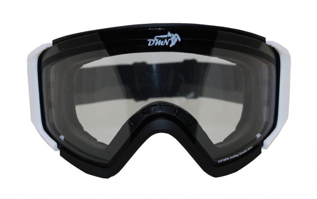 Maschera da snowboard per nebbia e nevicata