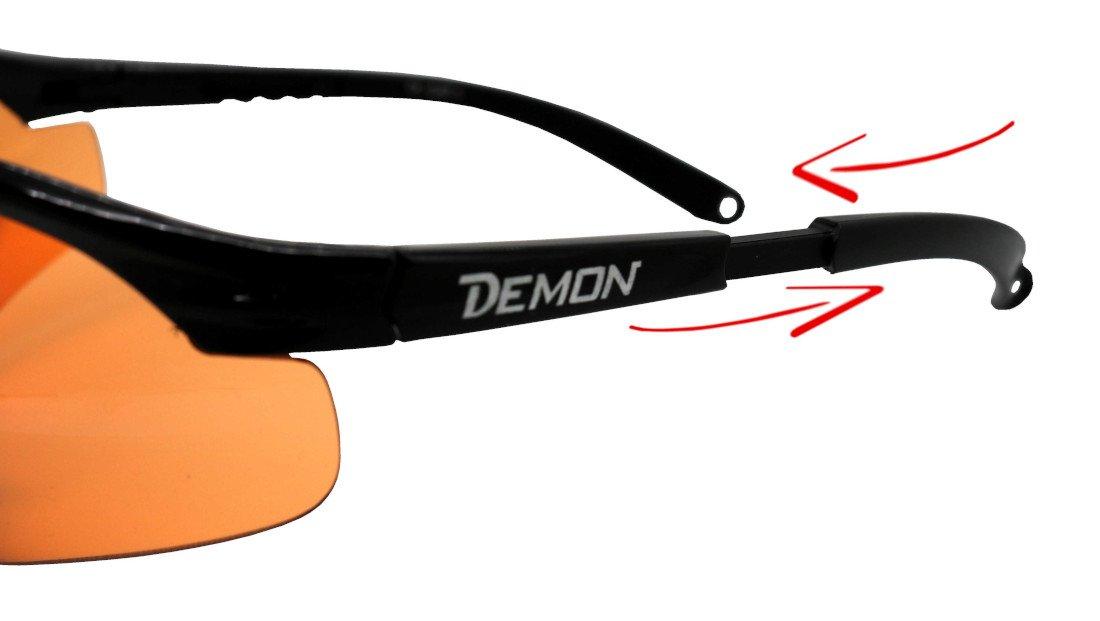 Asta regolabile per occhiali sportivi per meteo nuvoloso