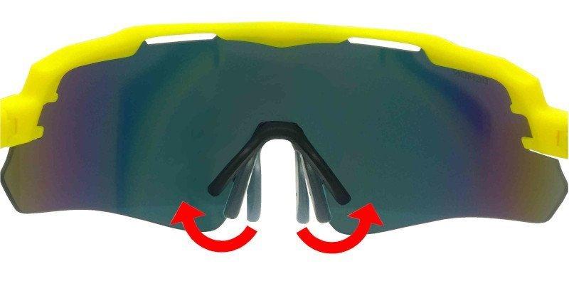 nasello regolabile occhiali da sci modello IMPERIAL