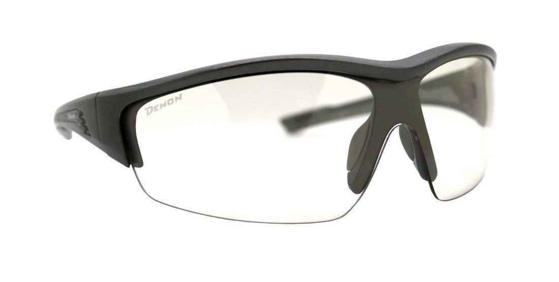 Occhiale da ciclismo per mtb e bdc lente fotocromatica modello graz grigio antracite