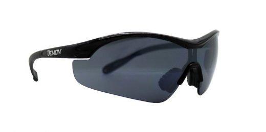 occhiale sportivo con lente fumo per meteo soleggiato modello VENTO