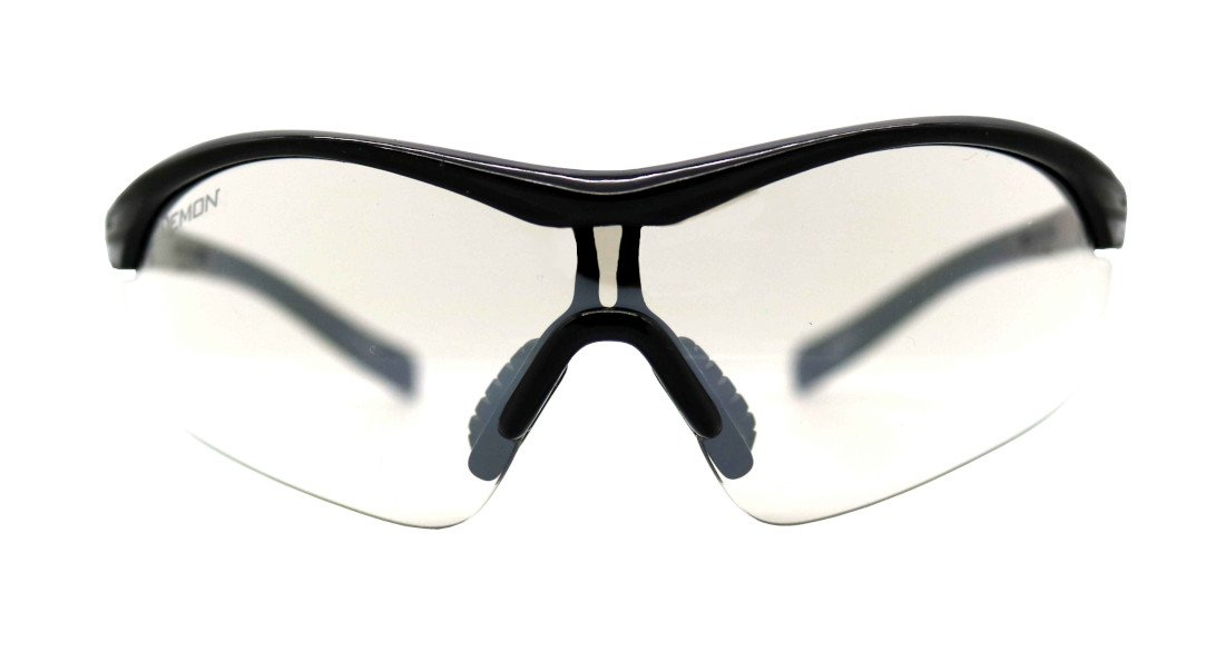 Occhiale sportivo per notturna lente trasparente
