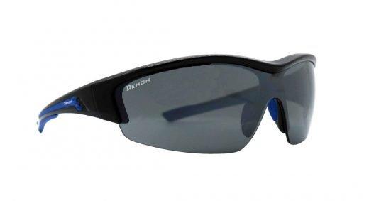 Occhiali da ciclismo e mountain bike con lenti intercambiabili modello graz nero blu